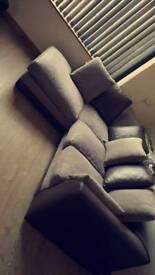 10 months old corner sofa
