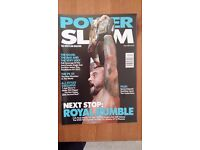 Power slam issue 220, THE PS 50 Issue, AJ Styles interview , posters of Dolph Ziggler, D Brian