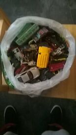 Bag of childrens Metal Cars for sale. Good condition .Only £5...
