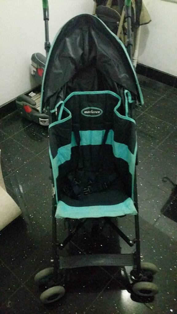 Maclaren Blue Stroller