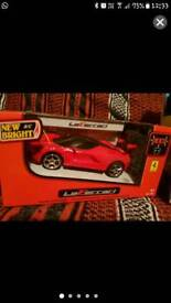 Pair of remote control cars