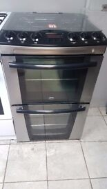 Zanussi ZKG5540XN Doulble Oven Gas Cooker with 4 MONTHS WARRANTY