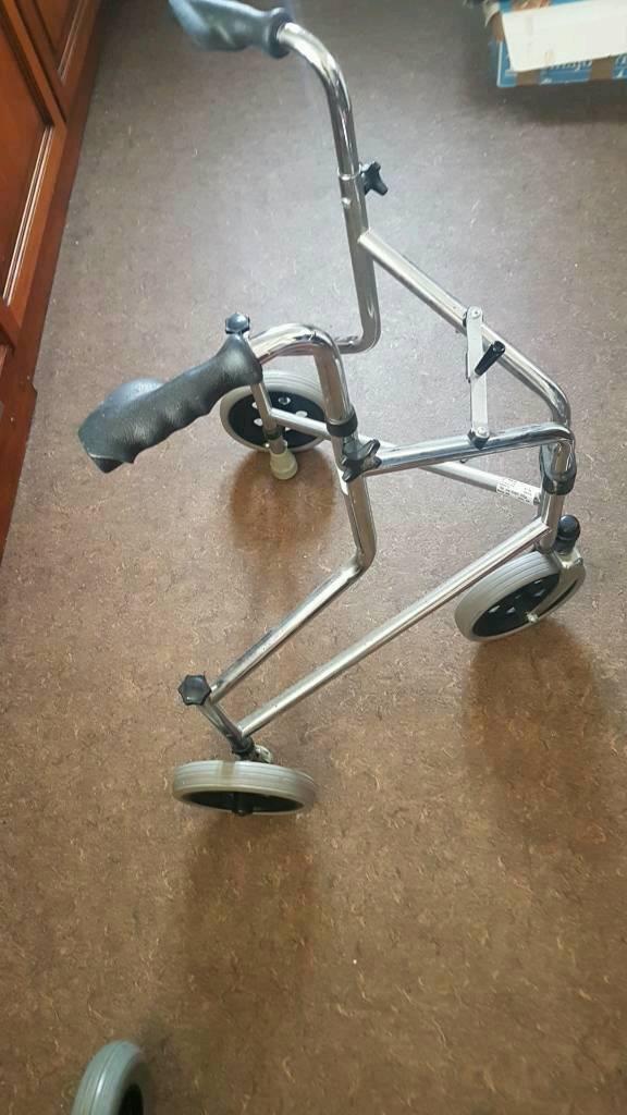 3 wheel disability walker bargain