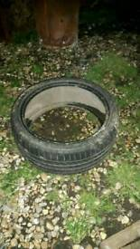 FREE USED CAR TYRE 18IN