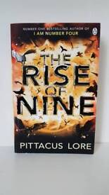 The Rise Of Nine (#3 Pittacus Lore series)
