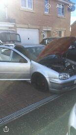 Spares or repairs vw golf 2.0 GTI swap for corsa/Clio