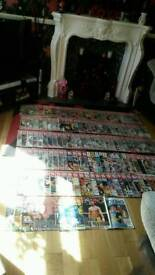 Joblot old boxing mags
