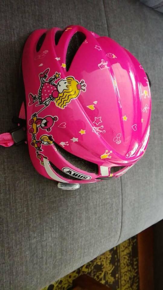 Abus HS-18 Hubble Fahrradhelm für Mädchen wie neu in Dortmund
