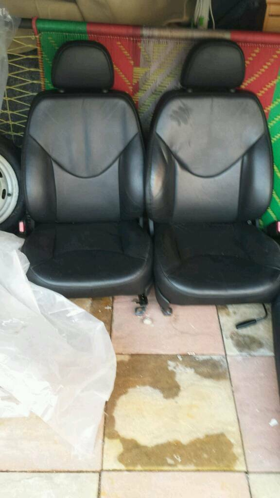 Stupendous Mg Zr Leather Seats In Highgate West Midlands Gumtree Machost Co Dining Chair Design Ideas Machostcouk