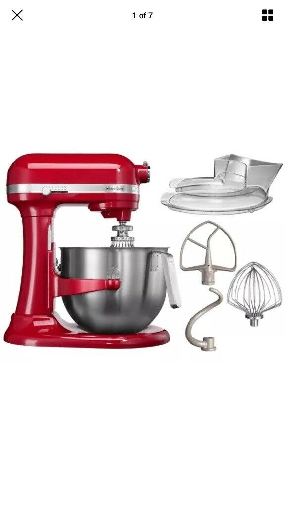 **BRAND NEW ** KITCHEN AID HEAVY DUTY MIXER RED 6.9LTR BOWL MODEL NO. 5KSM7591R