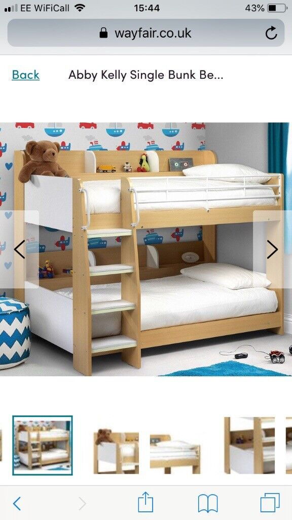 Single Bunk Beds Less Than Year Old In Cumbernauld Glasgow Gumtree