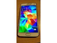 Samsung galaxy s5 16gb white unlocked smartphone