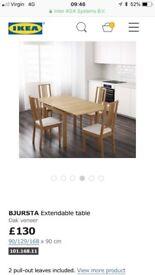 IKEA extendable dinning table £40