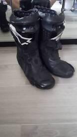 Alpinestars Supertech boots size 46 uk 10.5