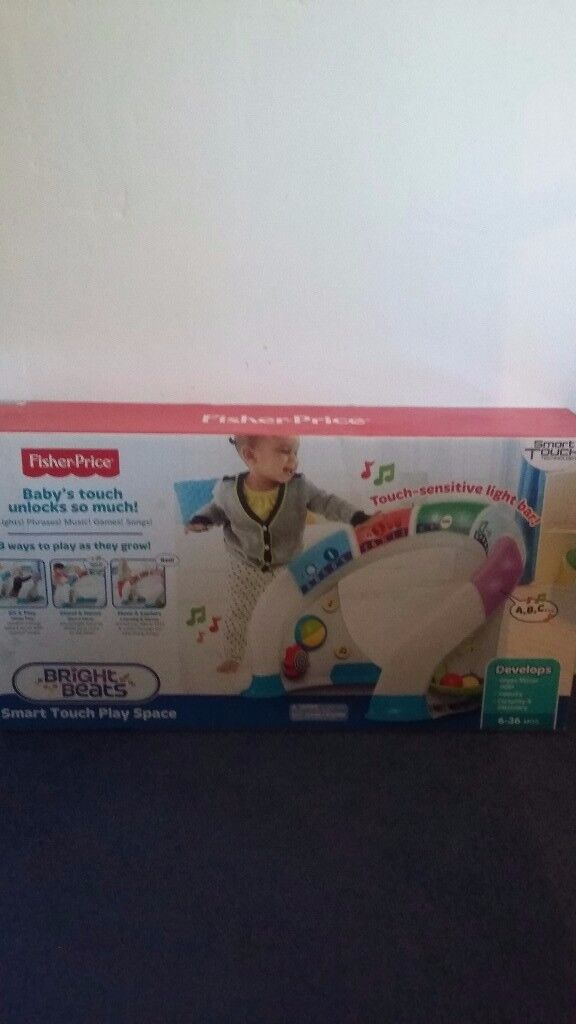Fisher Price Bright Beats Smart Touch Playspace