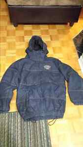 ECKO UNLTD 1972 Company Small Blue Denim Winter Jacket