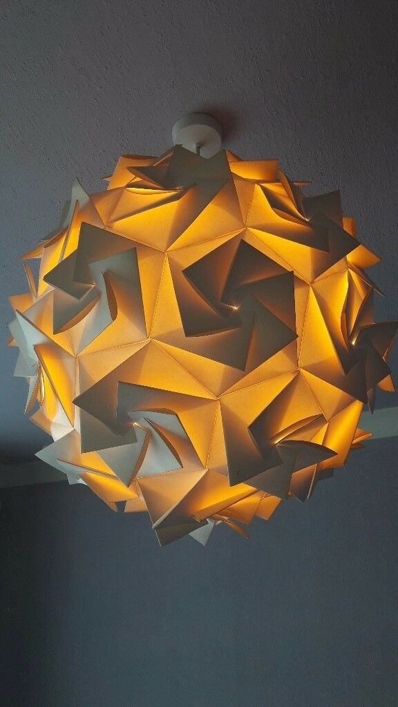 Large designer lamp shade (Aperture48)