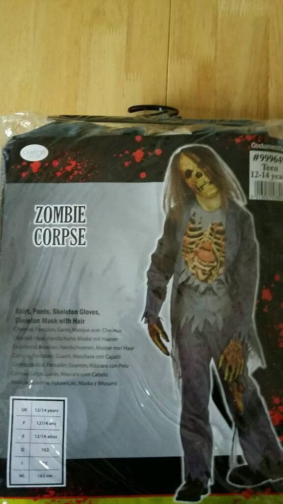 Halloween Costume - Zombie Corpse