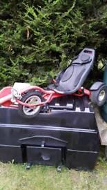 Rocker trike ride on outdoor toy