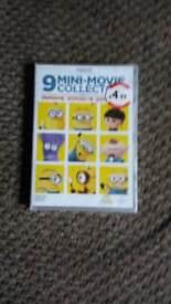 Dvd 9 mini movie collection