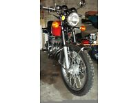 1979 Honda 400/4, M.O.T. July, 2017 as per photo,chrome, seat and rides well with no faults
