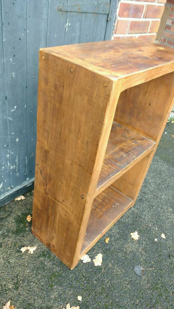 Enjoyable Solid Wood Bookshelf Console Table In Cheadle Hulme Manchester Gumtree Download Free Architecture Designs Rallybritishbridgeorg