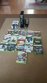 Xbox 360 plus 16 games