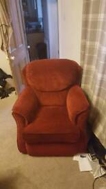 Two very uncomfortable armchairs for sale
