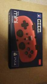 Hori Wired Mini Gamepad Red Controller for PS4