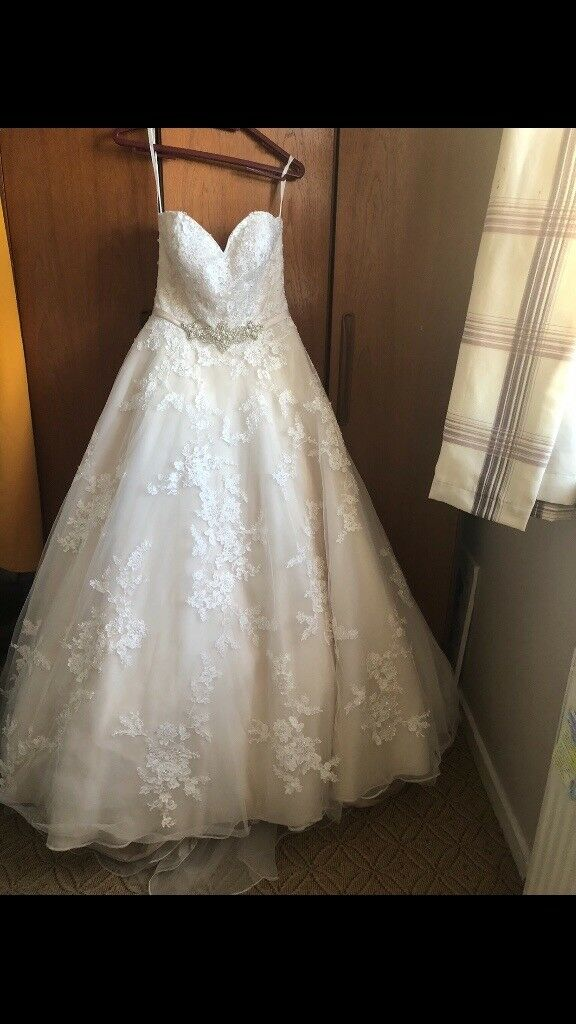 Ronald Joyce Robyn Wedding Dress Size 14