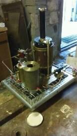 Model steam plant.