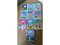 Peppa Pig and Ben and Holly DVD's