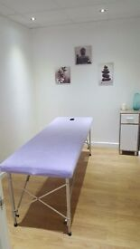 Two Treatment Rooms Available To Rent