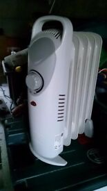 2 electric radiators
