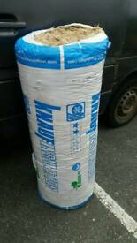 Full roll of insulation.