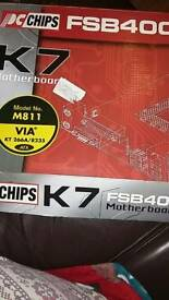 Mother board pc fsb400