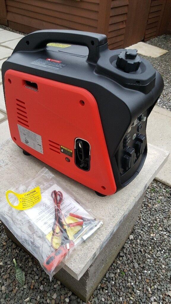 2000 watt generator like new mint.