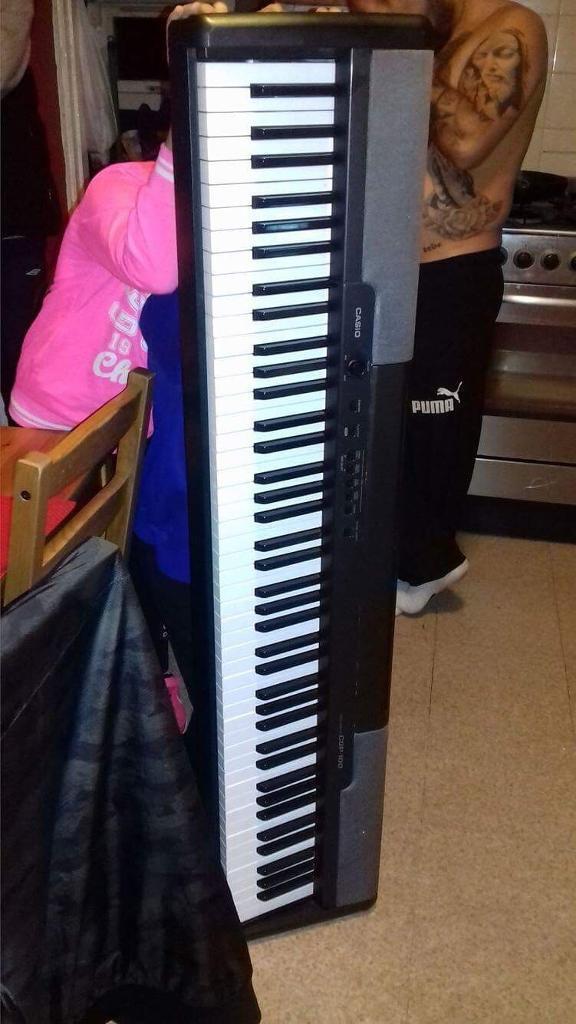 Casio cdp 100 eletric digitall piano 10 keys not working