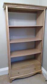 Large Oak Bookcase/ Bookshelves (John Lewis)