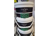CROWN TRADE 7.5LTR VINYL MATT EMULSION