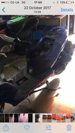 Sinnis 50cc new moped never registered