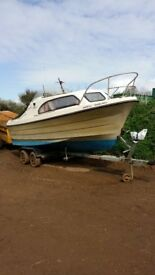 Shetland Day Boat with sea worthiness cert. Readvertising due to time wasters.