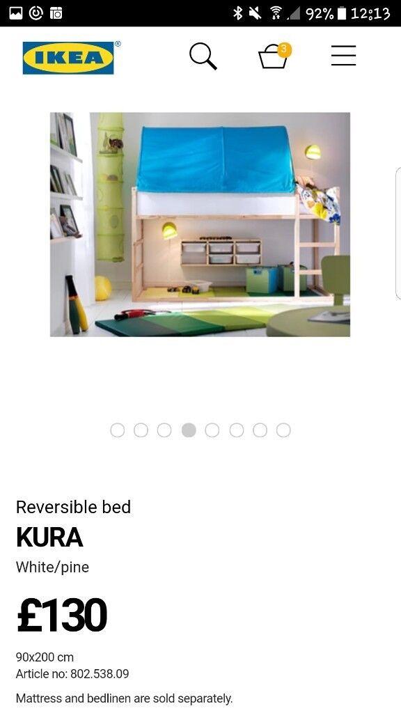 Ikea kura kids cabin bunk beds
