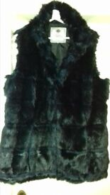 Ladies next fur gilet