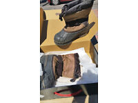 Womens boots size 3