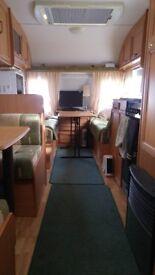 Avondale Dart 556/6 2004 lightweight caravan