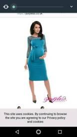 Maternity dress size 10 nwt
