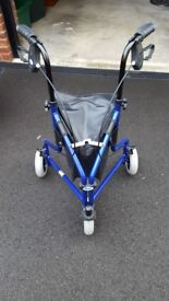 BLUE LIGHTWEIGHT WALKER