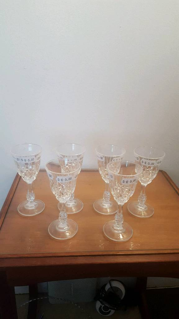 Quantity of New Glasses .. some crystal