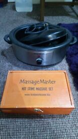 Hot Stone Massage Heater with Hot Stones